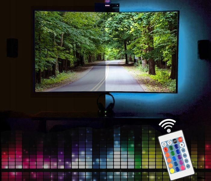 8x TAŚMA LED RGB 5M WODOODPORNA PILOT zdjęcie 6