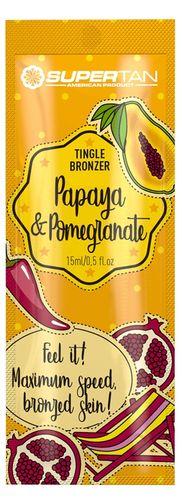 SuperTan Papaya Pomegranate bronzer tingle hot x5 na Arena.pl