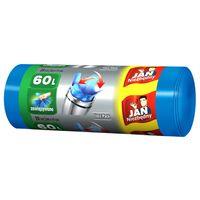 Jan  Niezbędny  Worki Na Śmieci - Easy Pack- (Zawiązywane) - Pojemność -60L - 20 Sztuk