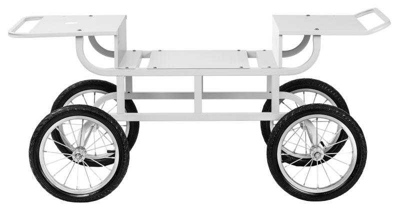 Wózek do waty cukrowej - 2 półki Royal Catering RCZT-01W zdjęcie 3