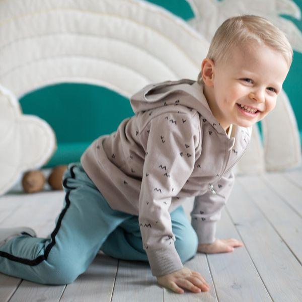 """Pinokio bluza rozpinana """"Leon"""" beż 62-98 Rozmiar - 80 zdjęcie 2"""