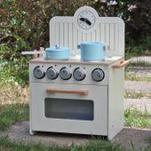 Drewniana Kuchnia Dla Dzieci MINI - ZESTAW NOWOŚĆ zdjęcie 4