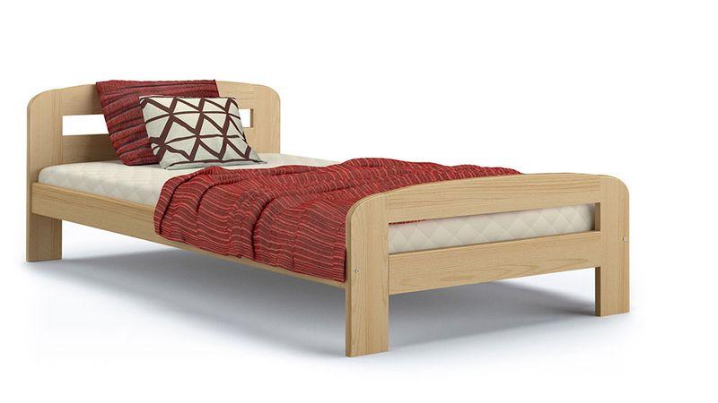 Łóżko DALLAS 200x90 + drewniany stelaż zdjęcie 3