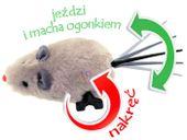 Nakręcana MYSZKA dla dziecka i kotka mysz ZA0838 zdjęcie 2