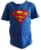 T-Shirt Koszulka Superman Licencja Warner Bros (SUP5202137 Blue 9Y)