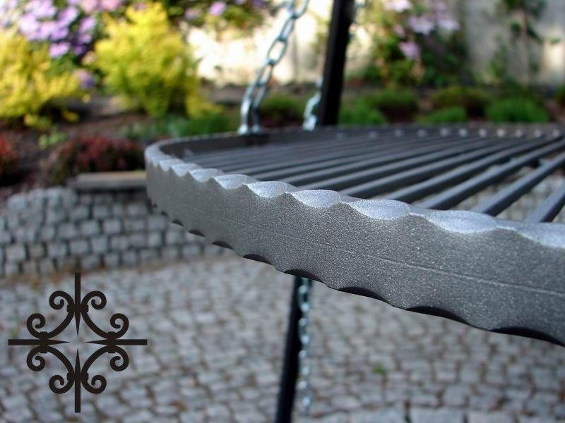 Ruszt do grilla wiszącego - stalowy - okrągły - 70 cm ES-ER zdjęcie 4