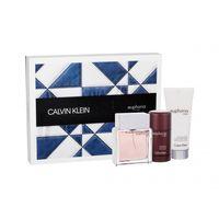 Calvin Klein Euphoria Men Zestaw 100ml EDT + 100ml Balsam + 75ml dezodorant