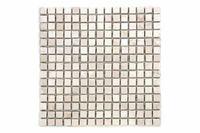 Mozaika marmurowa Garth na siatce kremowa 1m2 D00091