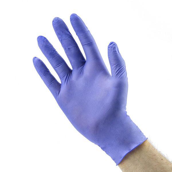 6da9df3bb4016b RĘKAWICE rękawiczki nitrylowe jednorazowe M/L x50 • Arena.pl