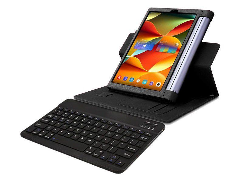 """Etui skórzane Lenovo Yoga Tab 3 Pro 10"""" X90 Czarne + Klawiatura zdjęcie 1"""
