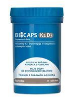 FORMEDS Bicaps K2 D3 60kap Witamina D-3 2000iu MK-7 100mcg