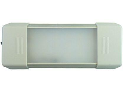 mocna Lampa LED wnętrza 17 cm z włącznik 18 SMD 12v 24v do Kabin itp