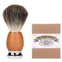 Mr Bear Family Pędzel do golenia z borsuka Pure Badger