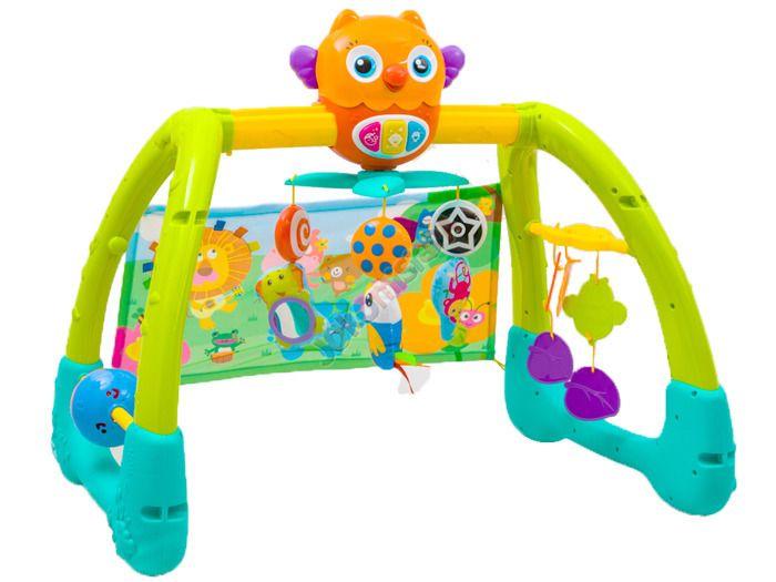 Kolorowy Interaktywny STOJAK 5w1 Dla Dzieci 0+ zdjęcie 1