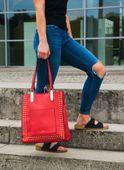 Torba Shopper Felice Fb36 Czerwona