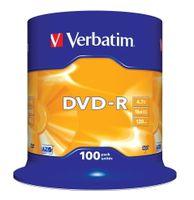 Verbatim DVD-R 16x 4.7GB 100 CB             43549