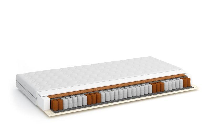 MATERAC sprężynowy KIESZEŃ  OLI 90X200 LATEKS VISCO termoelastyczny zdjęcie 1