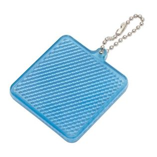 Światełko odblaskowe Square Reflect, niebieski