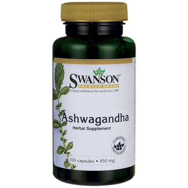 SWANSON Ashwagandha 100kap 450mg ŻEŃ-SZEŃ INDYJSKI zdjęcie 2