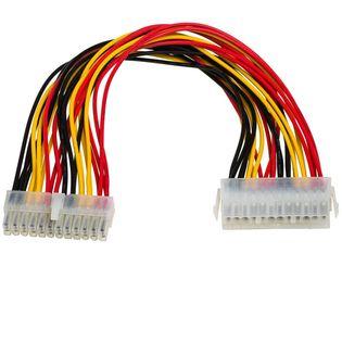 Kabel adapter Akyga AK-CA-09 P1 ATX 24-pin (M) - ATX 24-pin (F)  0,30m