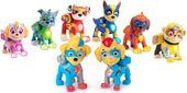Psi Patrol Zestaw 8 figurek Super Bliźniaki Mighty Pups Kosmopieski