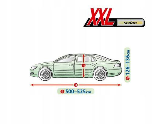 Pokrowiec plandeka 3 warstwy Mercedes S W221, W222 na Arena.pl