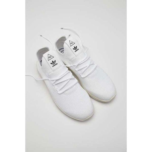 delikatne kolory świetna jakość najbardziej popularny BUTY ADIDAS PHARRELL WILLIAMS TENNIS HU 792 FOOTWEAR WHITE/FOOTWEAR  WHITE/CHALK WHITE (B41792) 43 1/3 FOOTWEAR WHITE/FOOTWEAR WHITE/CHALK WHITE