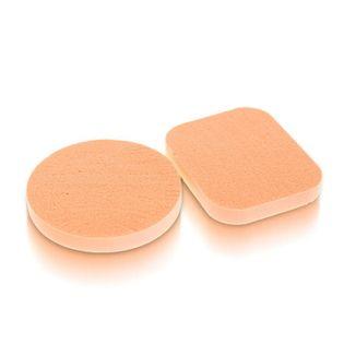 Gąbki silikonowe do makijażu/ombre nr21, 2szt