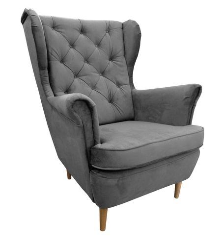 Fotel USZAK, stylowy, nowy. Super cena!!! Pikowany, kolory!!! na Arena.pl