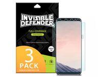 3 x Folia 3D Ringke Invisible Defender Samsung Galaxy S8