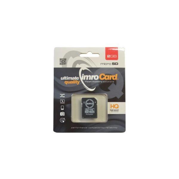 Karta Micro Secure Digital IMRO 2GB CLASS 4 nie HC Promo! na Arena.pl