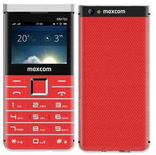 Telefon dla Babci Dziadka Seniora MAXCOM MM760