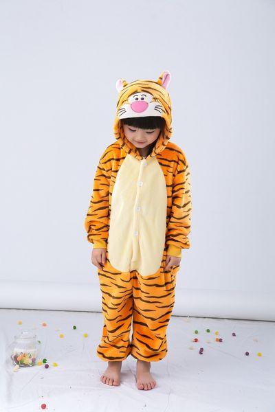 TYGRYSEK Piżama Dla Dziecka Kigurumi140-150 cm zdjęcie 3