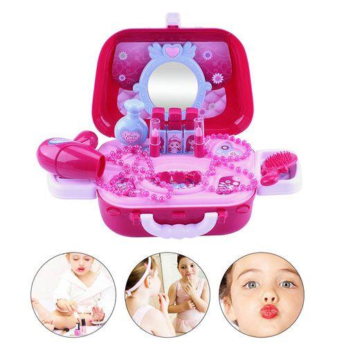 Toaletka dla dziewczynki w torebce zestaw kosmetyczny kuferek Y182 na Arena.pl