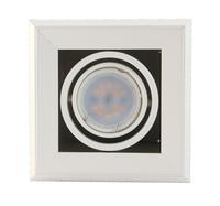 Lampa wpustowa 1xGU10 BLOCCO Milagro Kolor produkty - Biały
