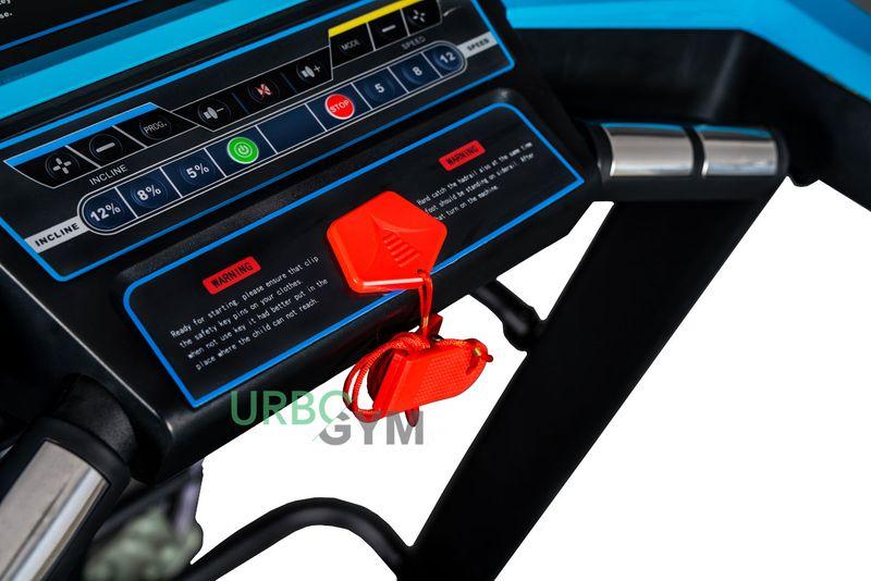 Bieżnia elektryczna V680 - 19km/h 140kg Pas 46 cm zdjęcie 6