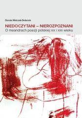 Niedoczytani Nierozpoznani Dorota Walczak-Delanois