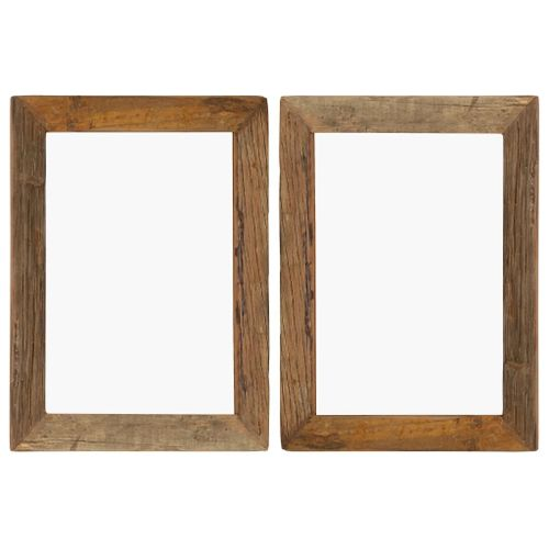 Lumarko Ramki na zdjęcia, 2 szt., 40x50 cm, drewno z odzysku i szkło! na Arena.pl