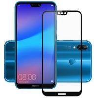 Huawei P20 Lite 5.84 SZKŁO 3D 5D PEŁNE CAŁY EKRAN HARTOWANE 9H KLEJ
