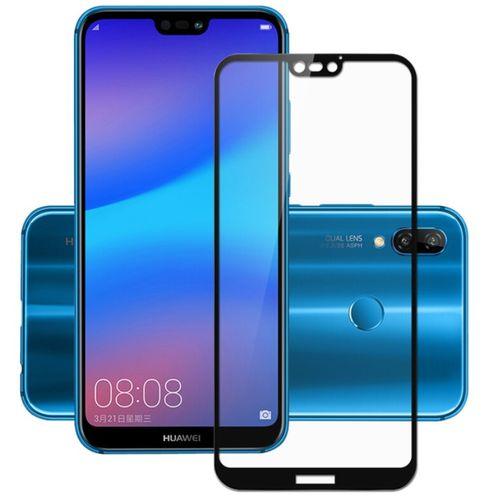 Huawei P20 Lite 5.84 SZKŁO 3D 5D PEŁNE CAŁY EKRAN HARTOWANE 9H KLEJ na Arena.pl