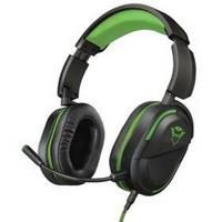 Zestaw słuchawkowy Trust GXT422G Legion pro Xbox One (23402) Czarny/Zielony