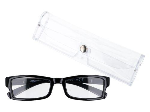 Czarne zastępcze okulary korekcyjne plusy +1.00 na Arena.pl