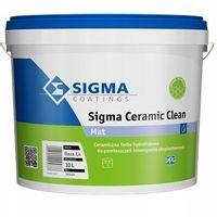 Sigma Ceramic Clean 10L - Farba Ceramiczna BIAŁA