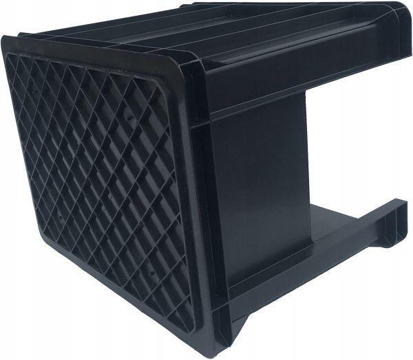 Plastikowy pojemnik magazynowy skrzynka z otworem 40x30x27 cm na Arena.pl