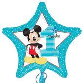 Amscan Balon foliowy Miki 1-urodziny