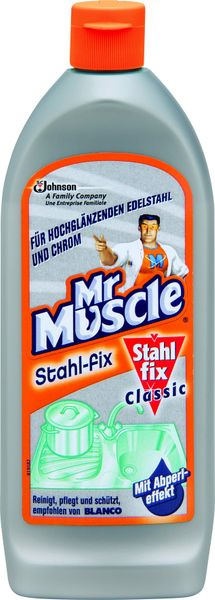 Mr Muscle mleczko do czyszczenia stali nierdzewnej 200 ml zdjęcie 1