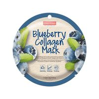 Blueberry Collagen Mask maseczka kolagenowa w płacie Borówka 18g