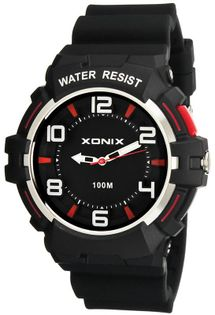 Xonix Wskazówkowy zegarek, podświetlenie, wodoodporny 100m, antyalergiczny