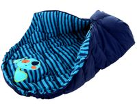 ŚPIWOREK DO WÓZKA SANEK Śpiwór Ocieplany 4w1 dog navy blue