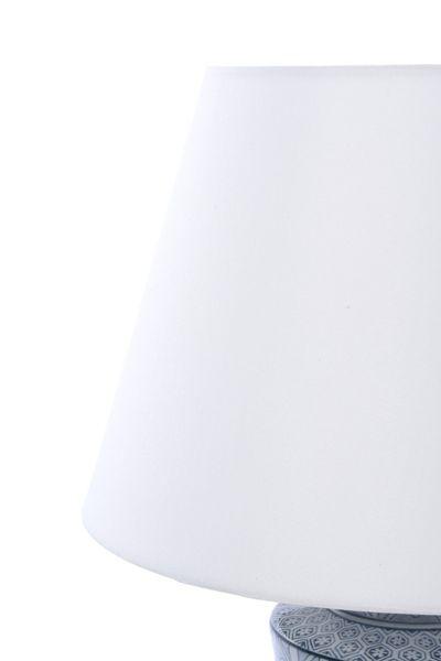 Lampa stołowa z abażurem Anabel 18x18x51cm zdjęcie 8